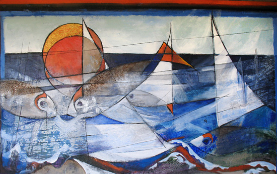 Seascape With Fish