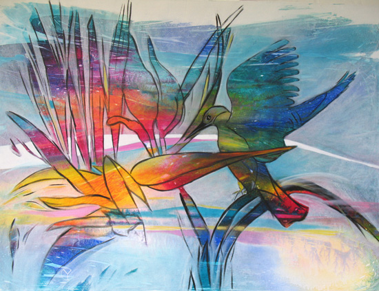 The Kingfisher Series No9