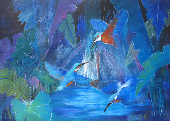 The Kingfisher Series No 6